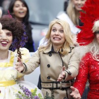 Claire Danes at Hasty Pudding Women of the Year parade