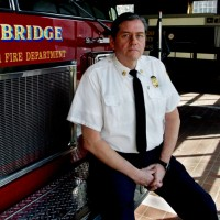 Cambridge Fire Chief Gerald Reardon