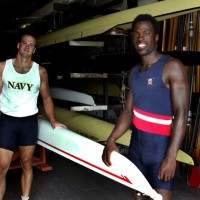 Abdullah the 1st black to qualify for the U.S. Olympic rowing team