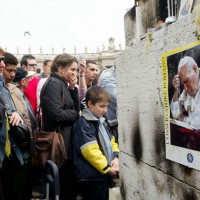 Pop John Paul II's Death in Rome