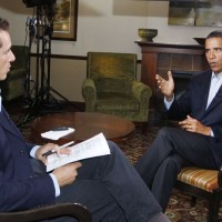ABC's Cuomo, interviews President Obama in N.H.
