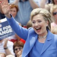 Clinton in Unity, N.H.