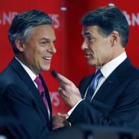 Gov. Huntsman and Gov. Perry