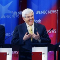 Ron Paul, Newt Gingrich and Rick Perry